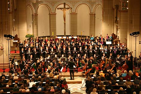 Konzert in St. Antonius, Düsseldorf-Oberkassel am 18.12.2005