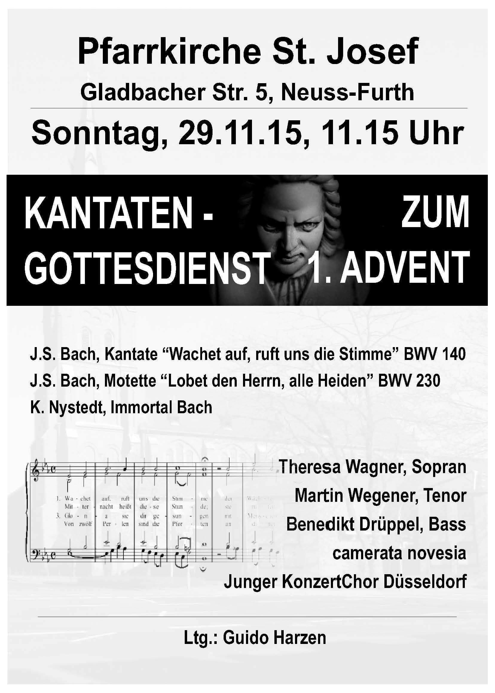 2015 11 29 JKCD Kantaten-Gottesdienst Bach