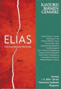 Elias 2014 Wuppertal