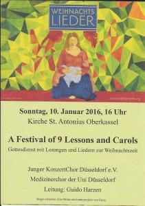 2016 01 10 JKCD Carols Konzert St. Antonius Oberkassel (1)
